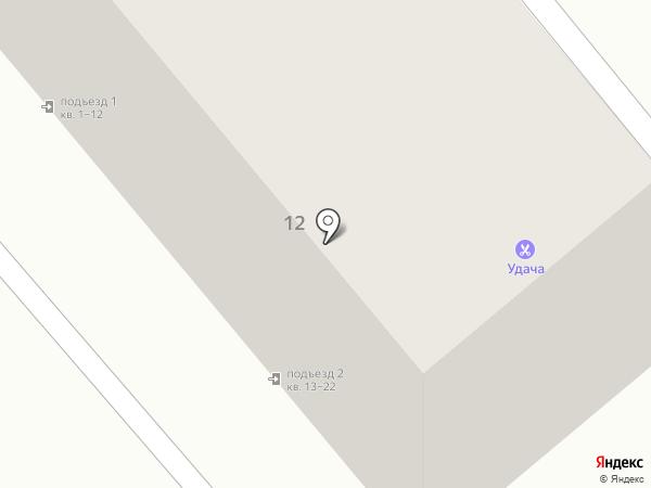 Баржа на карте Магнитогорска