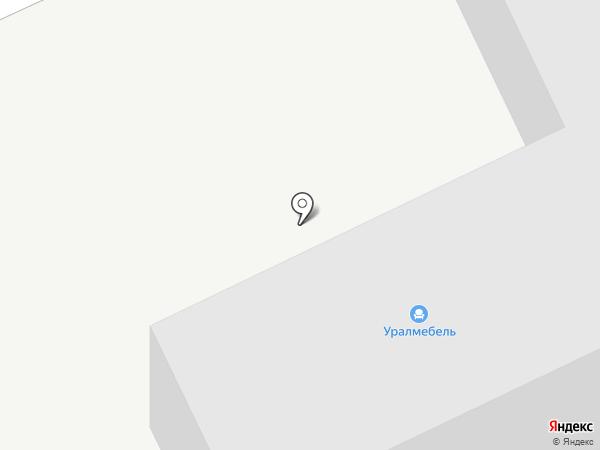 УралМебель на карте Магнитогорска