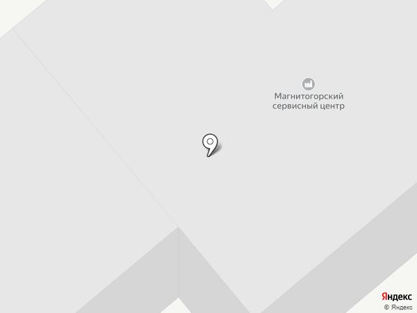 Градострой-М на карте Магнитогорска