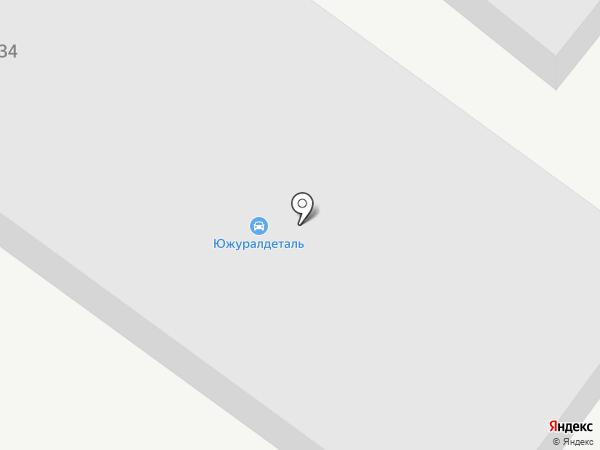 Декор на карте Магнитогорска