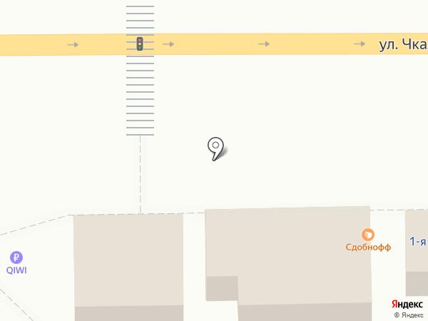 Магазин колбасных изделий на карте Магнитогорска