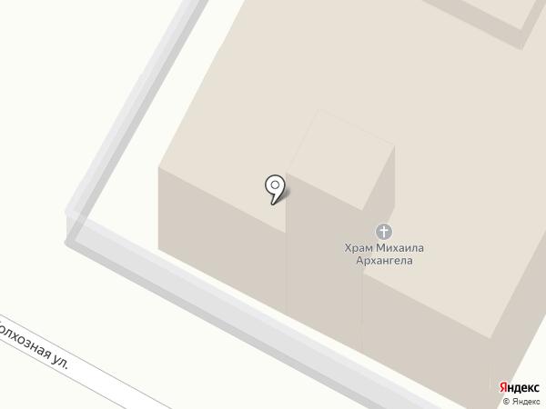 Храм Михаила Архангела на карте Магнитогорска