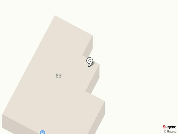 Ветеринарная станция по борьбе с болезнями животных на карте Магнитогорска
