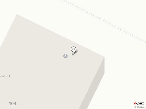 Левобережный на карте Магнитогорска