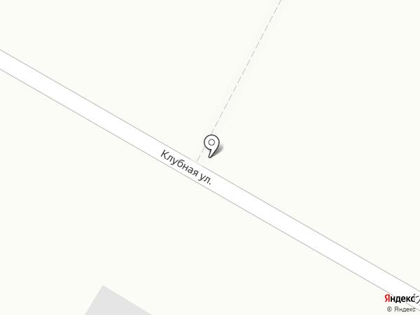 Продуктовый магазин на Клубной на карте Приморского