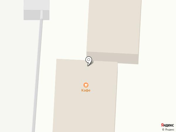 Придорожный на карте Приморского