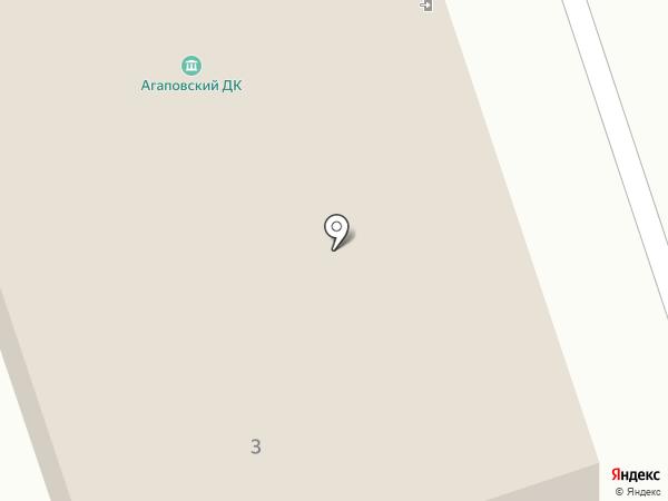 Агаповский сельский дом культуры на карте Агаповки