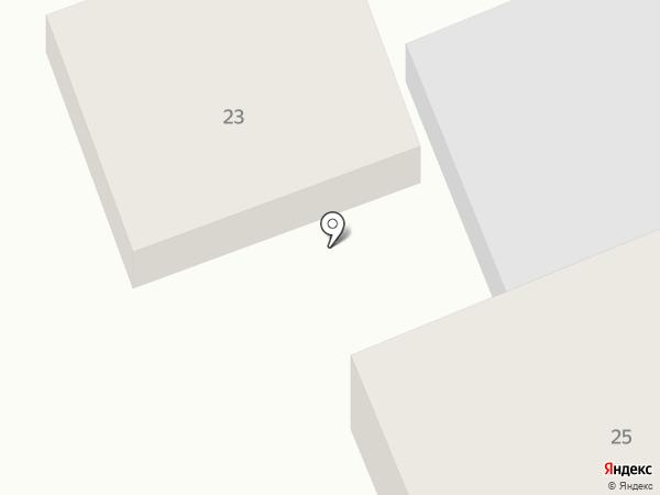 Киоск по продаже хлебобулочных изделий на карте Агаповки
