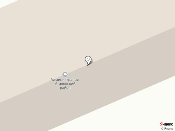 Комитет по строительству и архитектуре Администрации Агаповского района на карте Агаповки