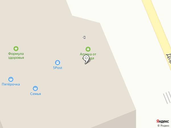 Пятёрочка на карте Агаповки