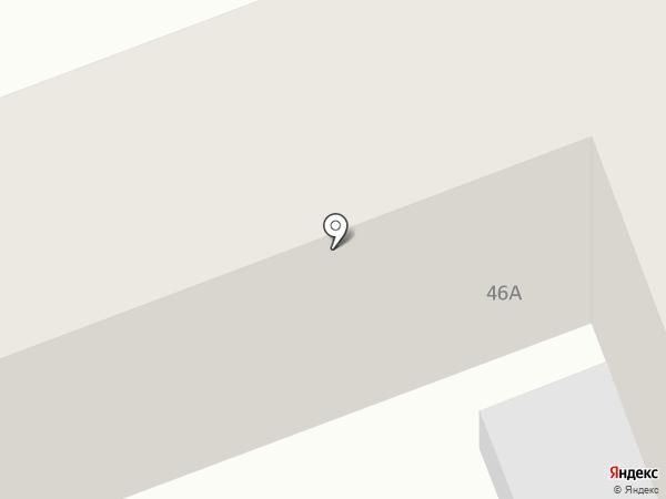 Магазин отделочных материалов на карте Агаповки