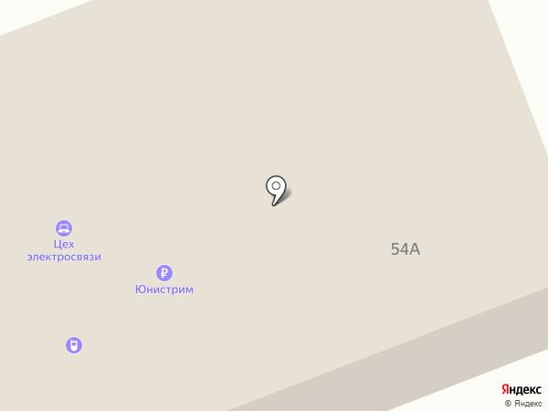Фабрика Богатырь на карте Агаповки