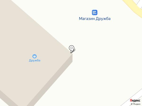 Дружба на карте Верхнеуральска