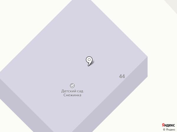 Детский сад №3 на карте Верхнеуральска