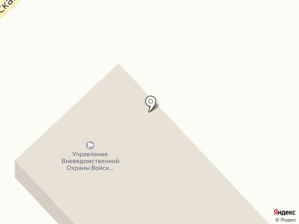 Отдел вневедомственной охраны по г. Верхнеуральску на карте Верхнеуральска