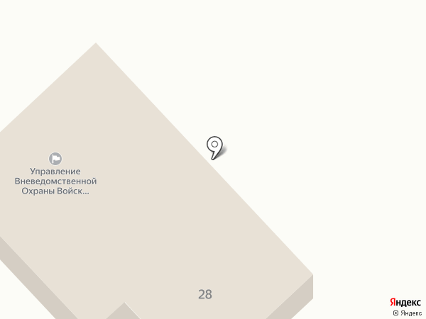 Отдел вневедомственной охраны на карте Верхнеуральска