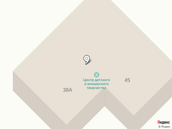 Дом детского творчества на карте Верхнеуральска