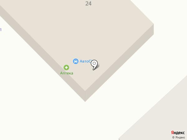 Авто City на карте Верхнеуральска