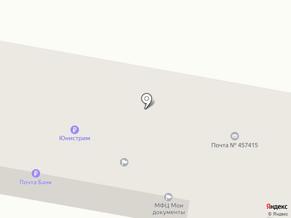 Участковый пункт полиции №4 по Агаповскому району на карте Желтинского