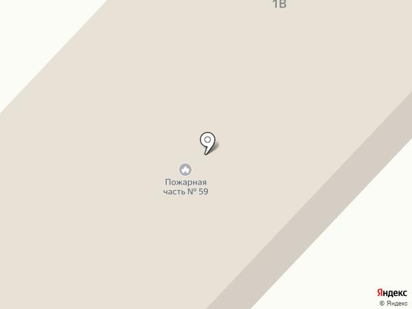 Пожарная часть №59 на карте Верхнеуральска