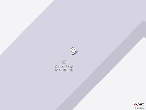 Детский сад №5 на карте Верхнеуральска