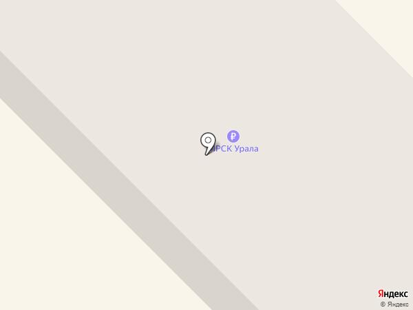 Автозапчасти на карте Верхнеуральска