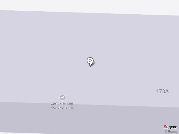 Детский сад №2 на карте Верхнеуральска