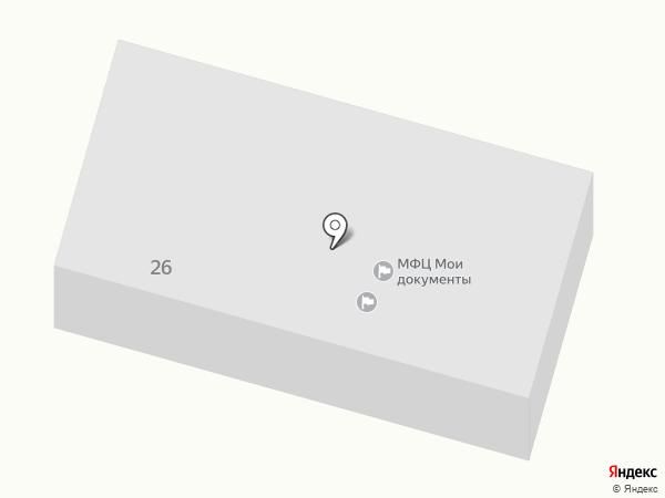 Администрация Первомайского сельского поселения на карте Первомайского