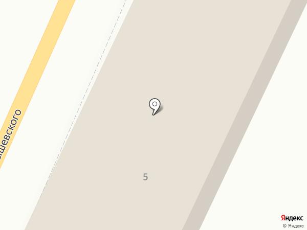 Гранит на карте Златоуста