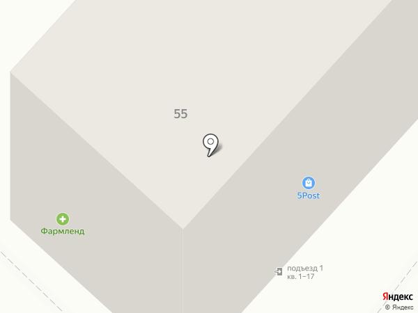 Чебаркульская птица на карте Златоуста