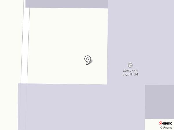 Детский сад №24 на карте Златоуста