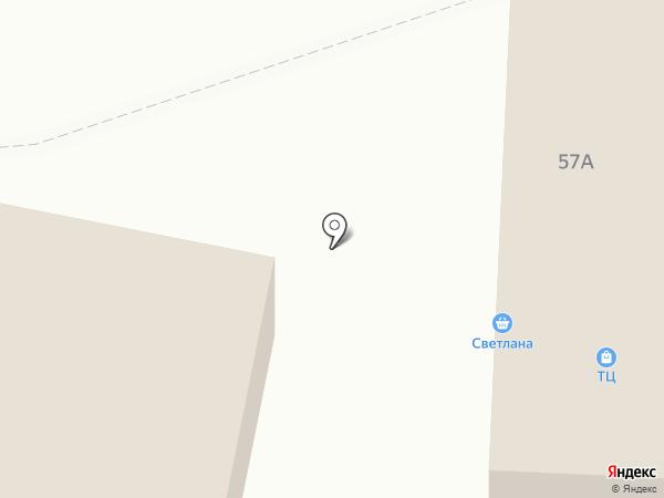Светлана на карте Златоуста
