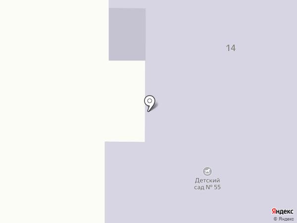 Детский сад №55 на карте Златоуста