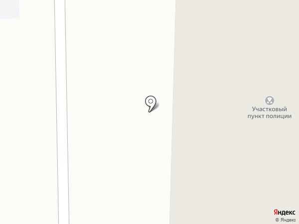 Участковый пункт полиции, Отдел полиции №13 Златоустовский на карте Златоуста