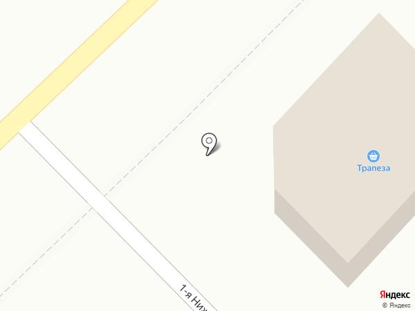 Трапеза на карте Златоуста