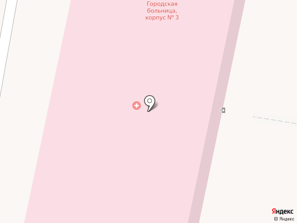 Городская больница №2 на карте Златоуста