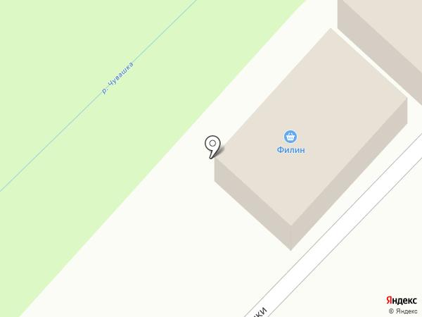 Филин на карте Златоуста