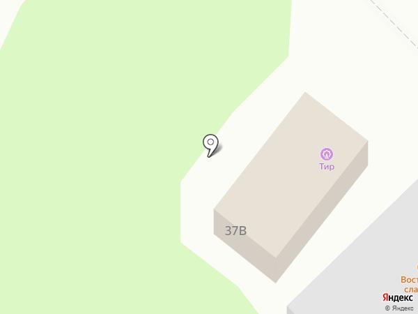 Тир на карте Златоуста