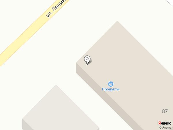 Продовольственный магазин на карте Златоуста