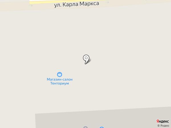 Магазин древенского мяса на карте Златоуста
