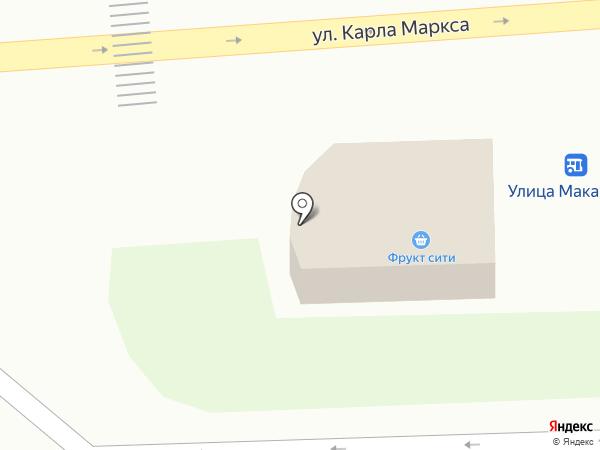 Фрукт сити на карте Златоуста