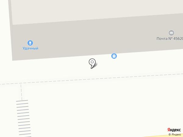 ЗОФ на карте Златоуста
