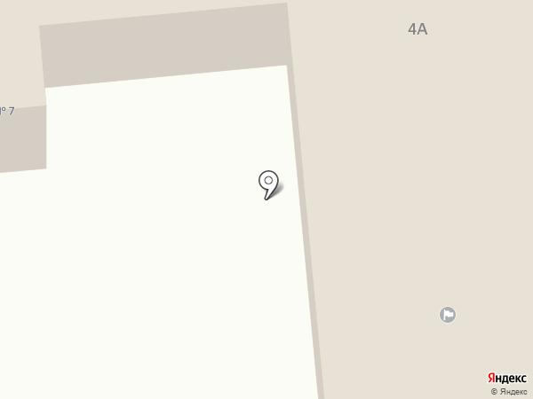 Областной дом ребенка №7 на карте Златоуста