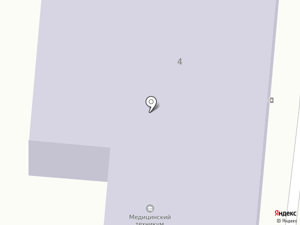 Златоустовский медицинский техникум на карте Златоуста