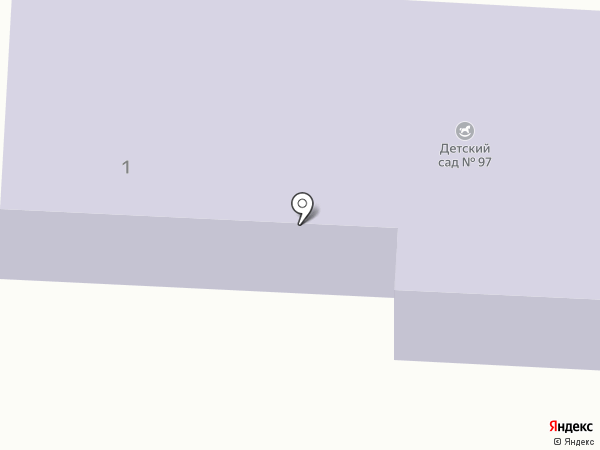 Детский сад №97 на карте Златоуста