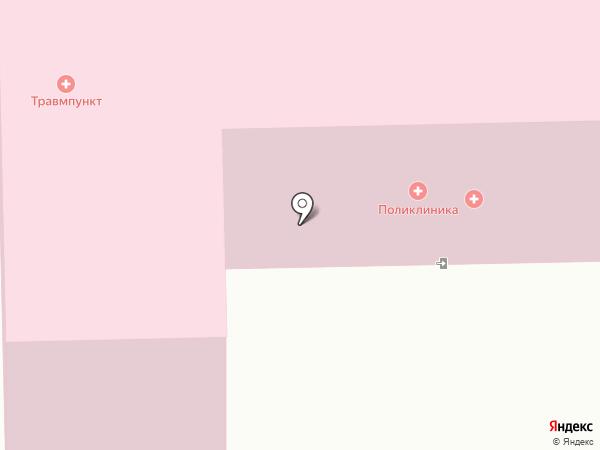 Поликлиника на карте Златоуста