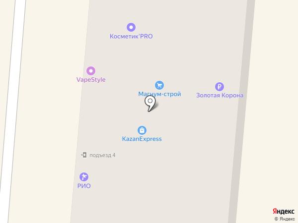Златшарик на карте Златоуста
