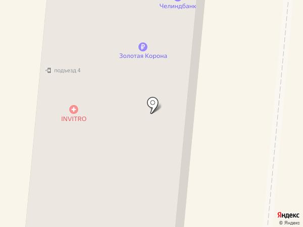 Винтаж на карте Златоуста