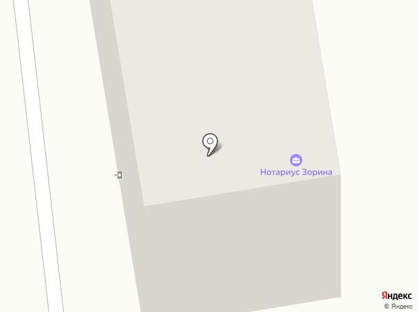 Нотариус Зорина М.А. на карте Златоуста