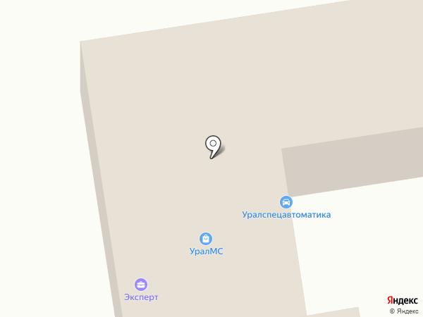 Тейт-Пром на карте Златоуста